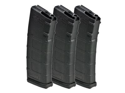 KWA Magpul RM4 PTS Scout ERG AEG Airsoft Rifle 30/60rd Magazines, 3pk