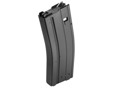 King Arms M4A1 Airsoft Rifle Magazine, Fits Colt M4A1 Gas Blowback Airsoft Rifles, 50 Rds