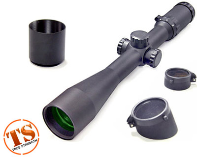 Leapers Accushot 3-12x44 30mm Range Estimating A.O. Mil-Dot Full size Scope