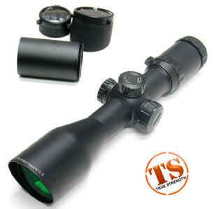 Leapers 3-12X44 30mm Mini Size Range Estimating Mil-Dot Illuminated Scope (100 Yards)