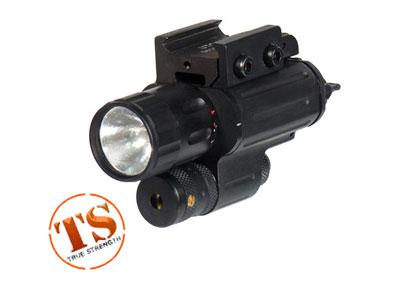 UTG Multi-functional Compact Laser/Flashlight, Weaver Mount