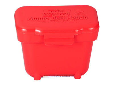 MTM Case-Gard Ammo Belt Pouch, Red
