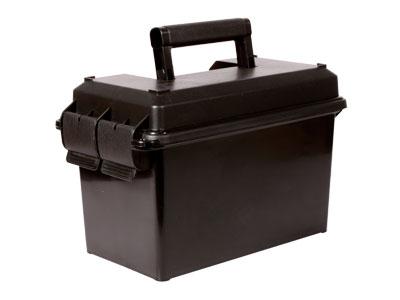 """MTM Case-Gard Handgun Carry Case, 13.5""""x7.4""""x8.5"""", Lift-Out Tray, Lockable, Black"""