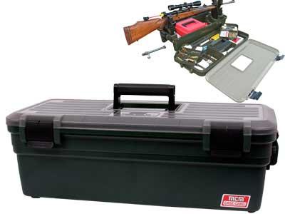 MTM Case-Gard Shooting Range Box, Green