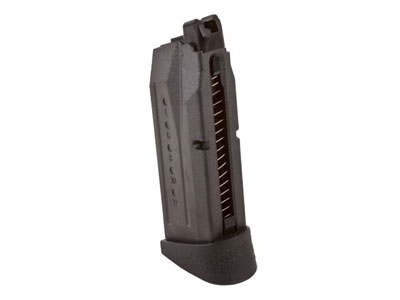 VFC Smith & Wesson M&P9C Airsoft Gas Blowback Pistol Magazine, 15 Rds