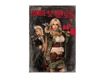 Mil-Spec Monkey Zombie Hunters 2013 Calendar