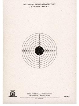 """National Target 5 Meter BB Gun Target, 6""""x8.5"""" 100ct"""