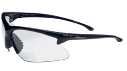 Jackson Safety Olympic Clear Lens Shooting  Glasses/+1.5 Power