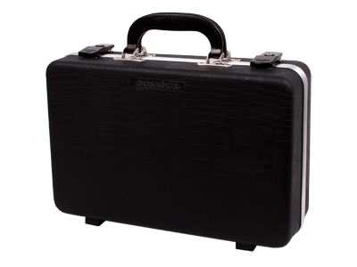"Plano Deluxe Pistol Hard Case, Holds 2 Pistols, 14.3""x10""x4.4"""