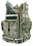 UTG Airsoft Deluxe Tactical Vest Digital, Army Digital Camo