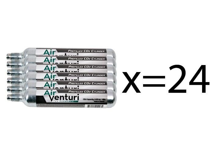 Air Venturi 90g CO2 Cylinder Bulk Pack, 24ct