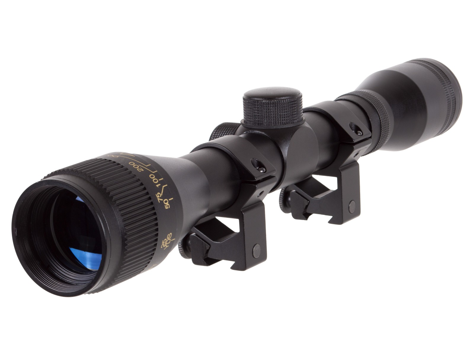 Winchester 4x32 AO Rifle Scope, Rings