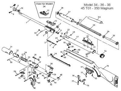 rws oval head screw diana rws umarex rh pyramydair com RWS 34 Air Rifle Review RWS 52 Air Rifle Custom