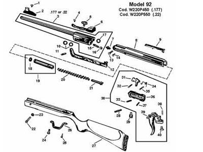 rws safety 92 diana rws umarex rh pyramydair com RWS Air Rifle Parts List Diana 50 Air Rifle Camo