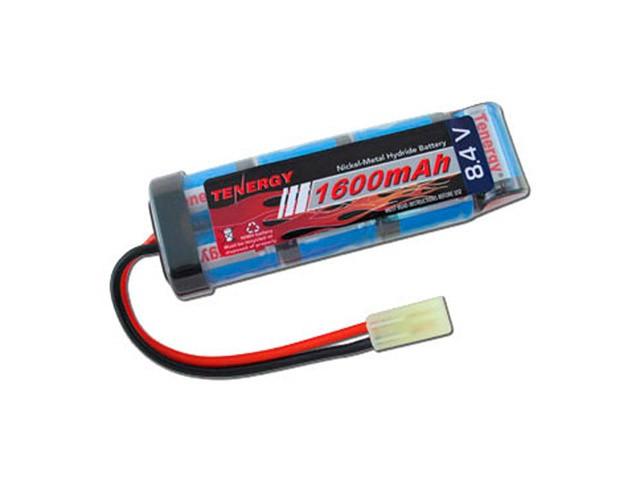 Tenergy 8.4v 1600mAh Flat NiMH Airsoft Battery Pack