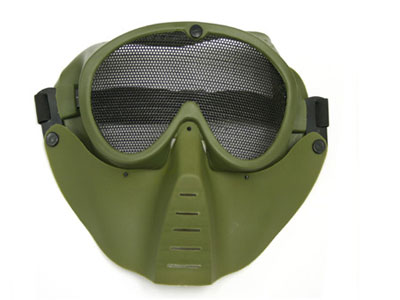 TSD Airsoft Face Mask, Green