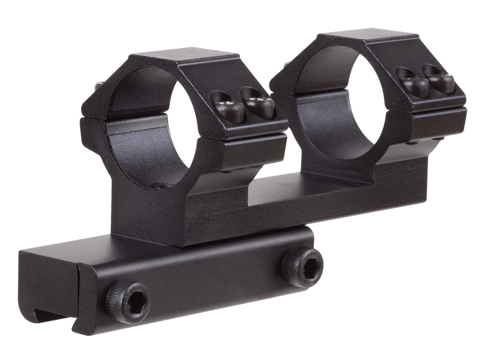 "Leapers Accushot 1-Pc Offset Mount w/1"" Rings, Weaver/Picatinny Mount"