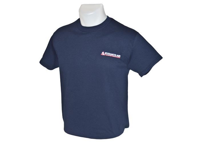 Pyramyd Air T-Shirt, Size Small, Navy