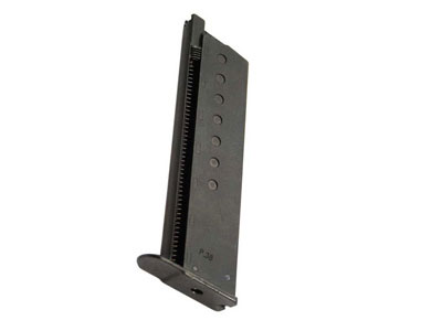 Walther P38 Blowback Green Gas Magazine, 12-Shot