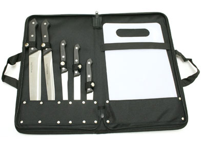 Winchester 6pc Kitchen Cutlery And Camping Knives With