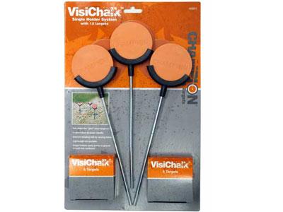 Champion VisiChalk Single Holder Target System, 12 Chalk Targets