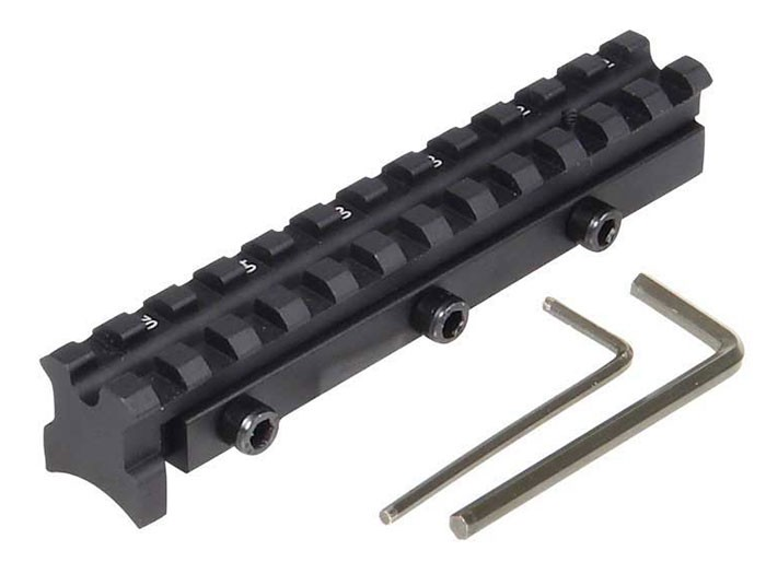 UTG Scope Mount Base, Fits RWS Diana 34, 36, 38, & 45 with TO5 Trigger, Compensates for Droop & Stops Scope Shift