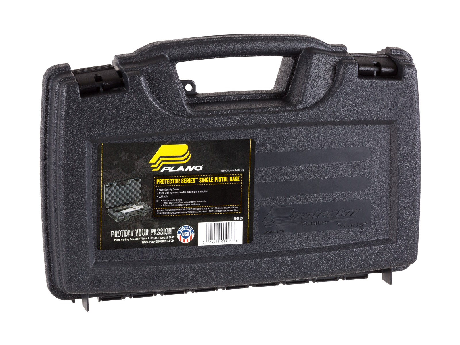 Plano Protector Pistol Case – Single