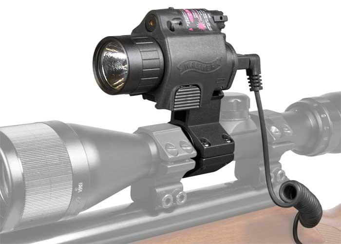 Walther Night Hunter Laser & Flashlight, 95 Lumens, Xenon Bulb