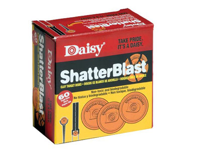 Daisy Shatterblast Refill Disks, 60 pack