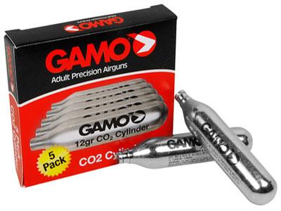 Gamo 12 Gram CO2, 5pk