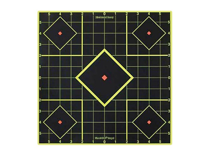 """Birchwood Casey Shoot-N-C Sight-In Targets, 8"""" Square, 6ct"""