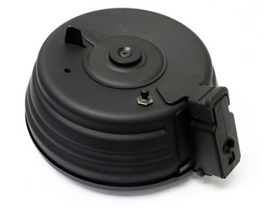 Cybergun Drum Mag, Fits Most AEG AK47, Metal, 2500 rds