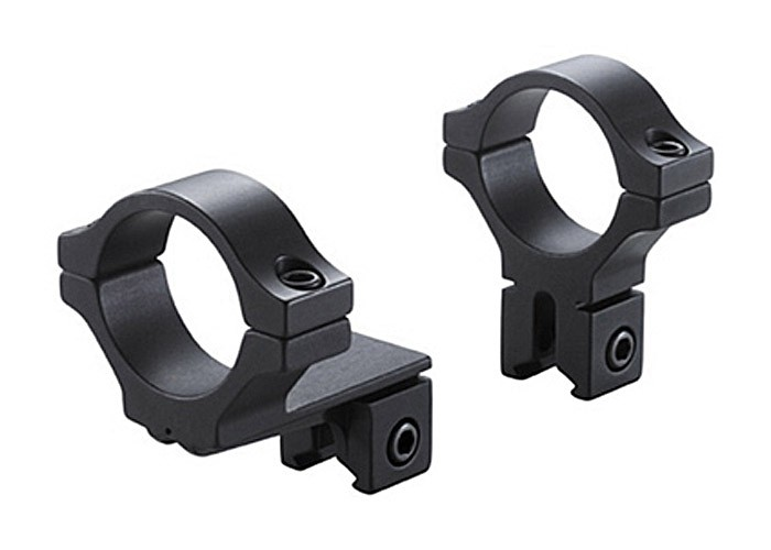 "BKL 1"" Rings, 3/8"" or 11mm Dovetail, Offset, Matte Black"