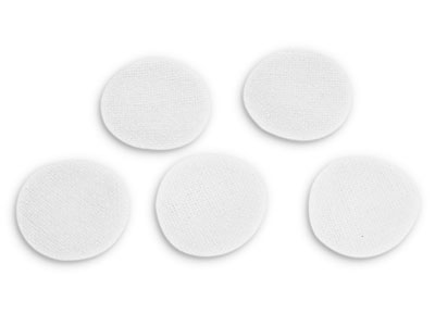 "Brownells 7/8"" Round Cleaning Patch, .177-.25 Cal, 100ct"