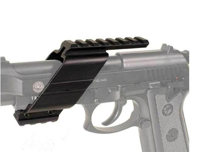 Universal Pistol Tactical Weaver/Picatinny Rail, Metal