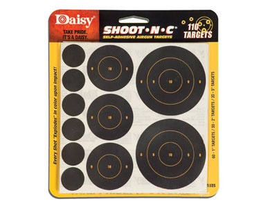 Daisy Shoot-N-C Self-Adhesive.