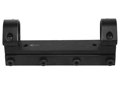 RWS Lock Down 1-Pc Mount w/30mm Rings, 11mm Dovetail, Barrel Droop Compensation