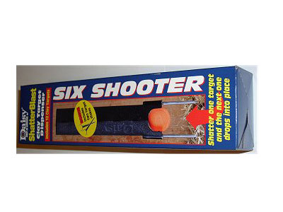 Daisy Shatterblast Six Shooter Target System, .22 Caliber Max