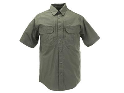 5.11 Tactical TacLite Pro Short Sleeve Shirt, Green, XL