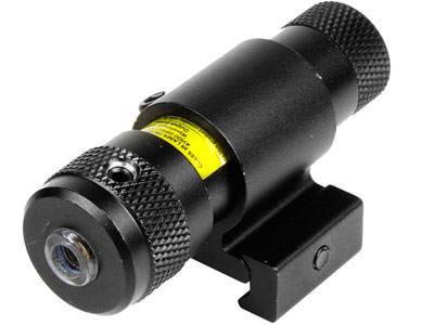CenterPoint Quick-Acquisition Laser Sight, Adj. for Windage & Elevation, 11mm & Weaver Rings