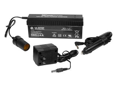 Shooting Chrony BB-Battery Pack, DC Power, Powers Shooting Chrony LED Lamps