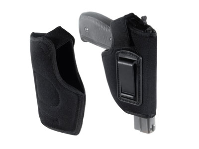 Concealed Belt Holster, Fits Compact & Subcompact Pistols, Black