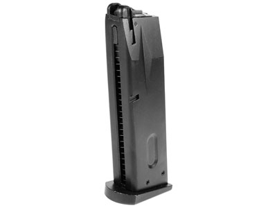 KJ Works Green Gas Pistol Magazine, 25 Rds, Fits Taurus PT92 Airsoft Pistol