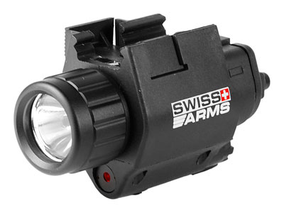Swiss Arms Flashlight & Laser, Weaver Mount