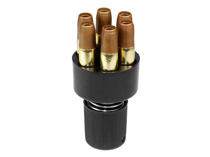 Dan Wesson ASG BB Speedloader & Airsoft Revolver Shells, 6ct