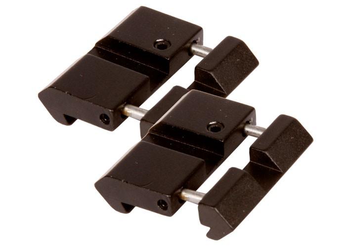 """UTG 11mm (3/8"""") Dovetail to Weaver Adapter, 2pcs"""
