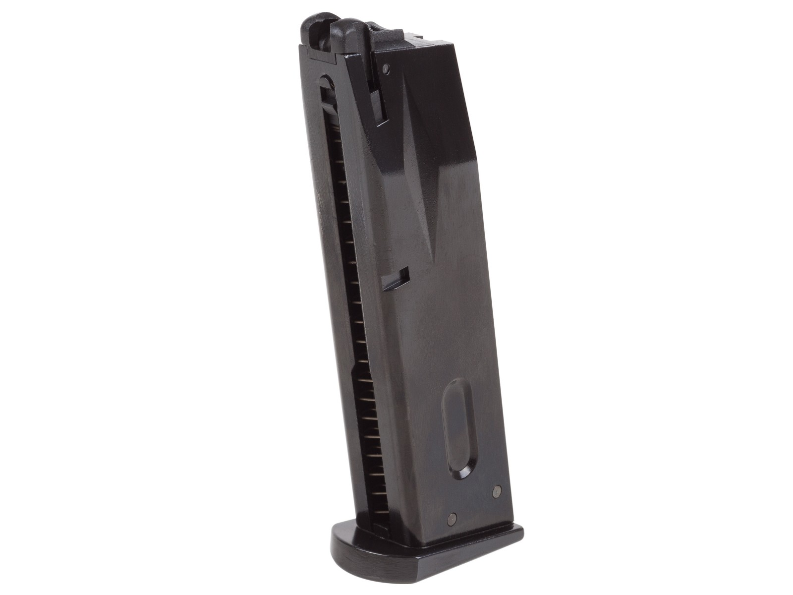 WE Green Gas Pistol Magazine, 25 Rds, Fits WE M-92, HFC M190