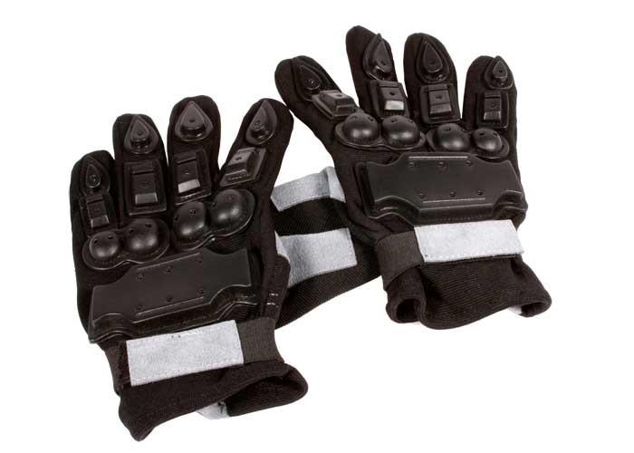 Air Venturi Full Armor Full-Finger Airsoft Gloves, Large