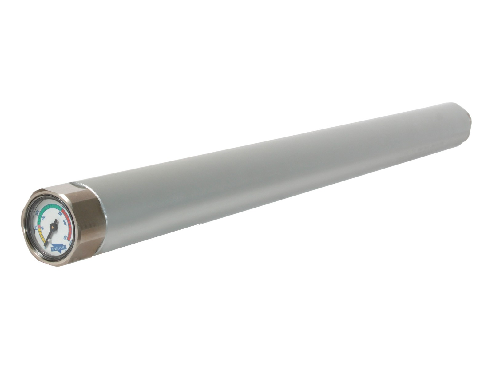 Anschutz Air Cylinder, Aluminum/Silver, Manometer