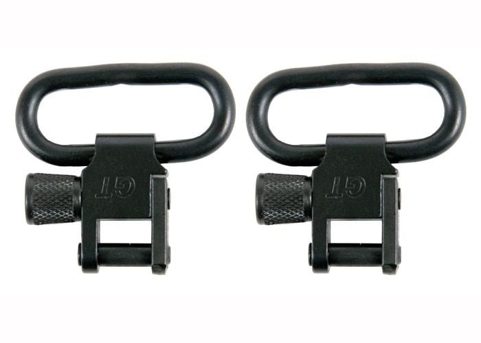 """GrovTec Locking Swivels, 1"""" Loop, Black"""